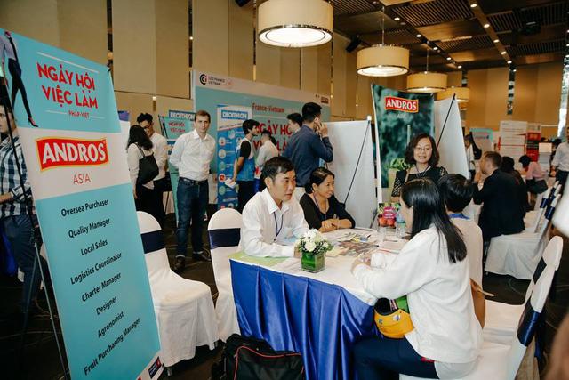 Hơn 40 doanh nghiệp tham gia Ngày hội việc làm Pháp - Việt lần thứ sáu  - Ảnh 1.