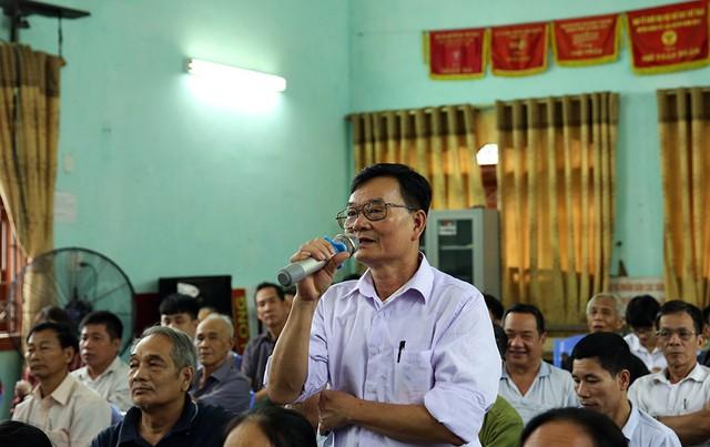 Phó Thủ tướng Phạm Bình Minh tiếp xúc cử tri Thái Nguyên - Ảnh 2.