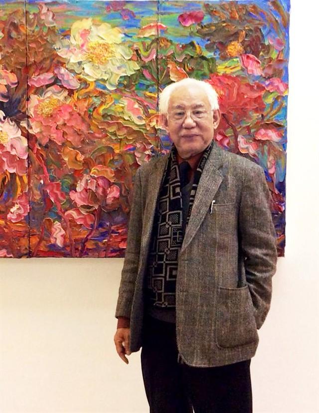 Họa sĩ Trần Khánh Chương qua đời ở tuổi 77 - Ảnh 1.