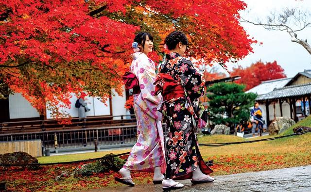 Chiến lược phát triển du lịch Nhật Bản - Ảnh 1.