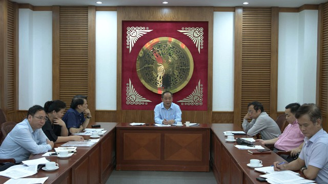 Thứ trưởng Lê Khánh Hải làm việc với Cục Nghệ thuật biểu diễn - Ảnh 1.