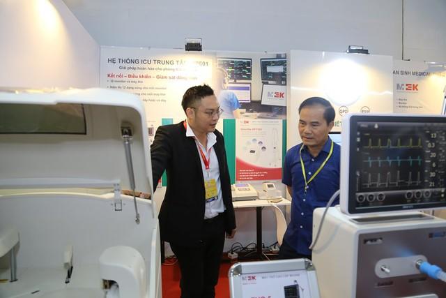Hàng trăm doanh nghiệp y dược quốc tế đến Việt Nam tham gia triển lãm - Ảnh 1.