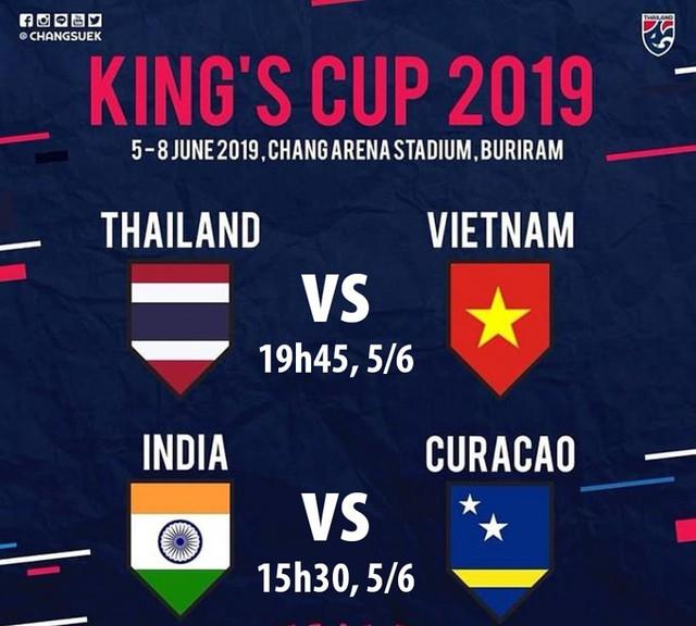 Bốc thăm Kings Cup: Đội tuyển Việt Nam tái đấu đội tuyển Thái Lan - Ảnh 2.