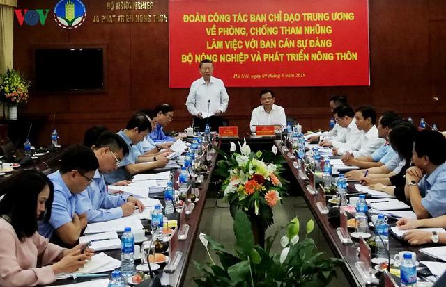 Bộ trưởng Tô Lâm: Nhiệm vụ phòng chống tham nhũng còn nặng nề - Ảnh 1.