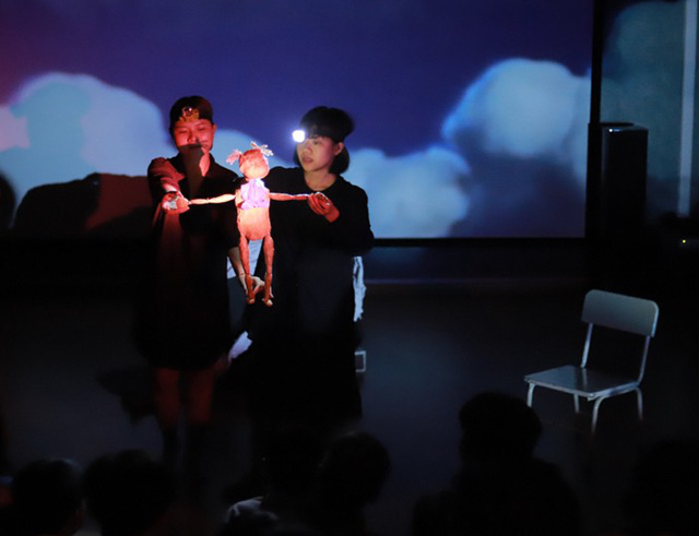 Kịch rối đương đại đầy cảm xúc Gạo lần đầu tiên có mặt tại Việt Nam - Ảnh 1.