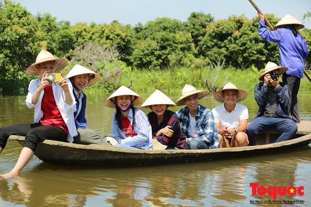 Trải nghiệm tour độc đáo miệt vườn Thanh Khê để hái vải trên sông - Ảnh 8.