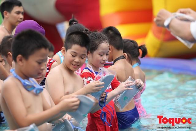 Lễ phát động toàn dân học bơi, phòng chống đuối nước năm 2019 - Ảnh 6.