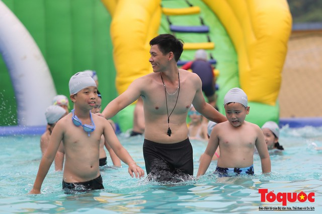 Lễ phát động toàn dân học bơi, phòng chống đuối nước năm 2019 - Ảnh 8.