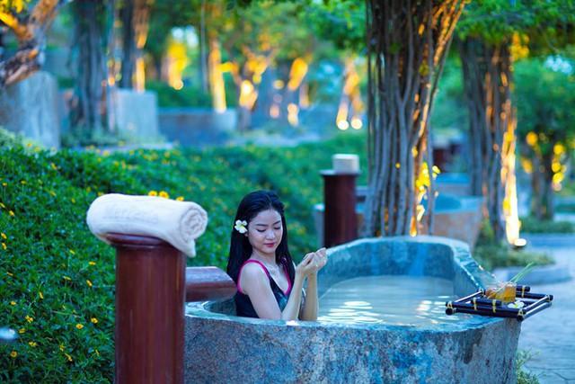 Thêm một bãi tắm bùn của thành phố biển Nha Trang đi vào hoạt động - Ảnh 1.