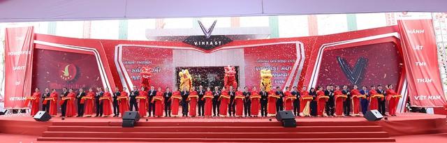 Vinfast khánh thành nhà máy sản xuất ô tô - Ảnh 1.