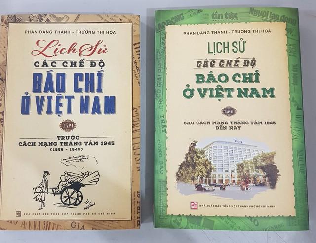 Giới thiệu 2 tập sách viết về Lịch sử các chế độ báo chí ở Việt Nam - Ảnh 1.