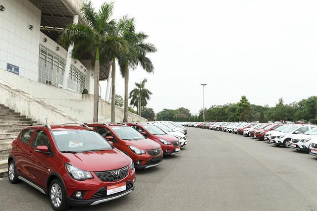 Vinfast giao 650 xe Fadil tới khách hàng trong 1 ngày - Ảnh 3.
