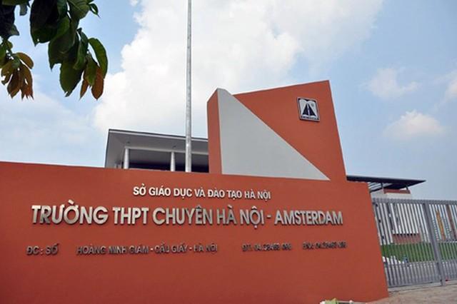 Điểm chuẩn trúng tuyển lớp 6 THPT chuyên Hà Nội - Amsterdam và lớp 6 thí điểm song bằng ở Hà Nội - Ảnh 1.