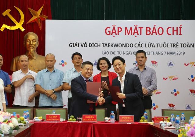 Gần 1.000 VĐV tham dự Giải vô địch Taekwondo  các lứa tuổi trẻ toàn quốc – CJ 2019 - Ảnh 3.