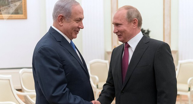 Trung Đông trước cơ hội mới từ gặp gỡ chưa từng có trong tiền lệ Mỹ-Nga-Israel - Ảnh 1.