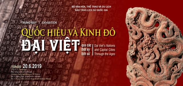 Trưng bày chuyên đề Quốc hiệu và Kinh đô Đại Việt qua các thời kỳ lịch sử - Ảnh 1.