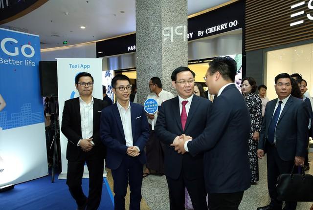 Phó Thủ tướng Vương Đình Huệ động viên các doanh nghiệp Việt Nam ở Myanmar   - Ảnh 4.