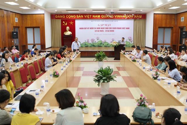 Bộ VHTTDL gặp mặt báo chí nhân dịp kỷ niệm 94 năm ngày báo chí cách mạng Việt Nam - Ảnh 2.