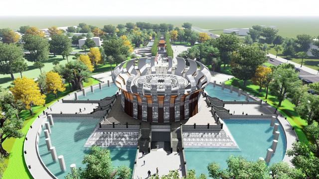 Khởi công xây dựng đền thờ các Vua Hùng tại Cần Thơ - Ảnh 2.