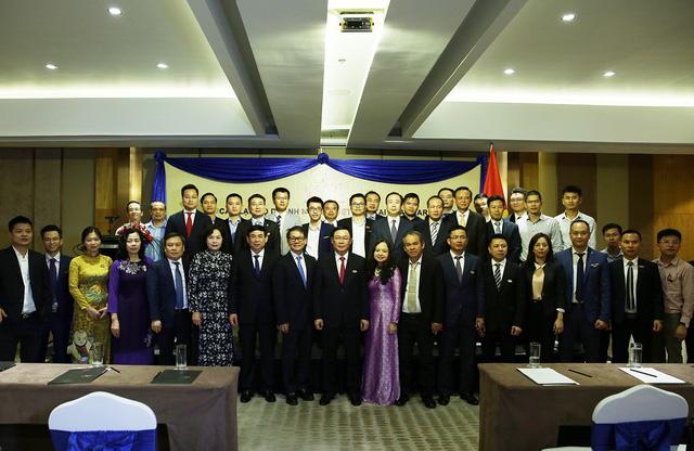 Phó Thủ tướng Vương Đình Huệ động viên các doanh nghiệp Việt Nam ở Myanmar   - Ảnh 3.