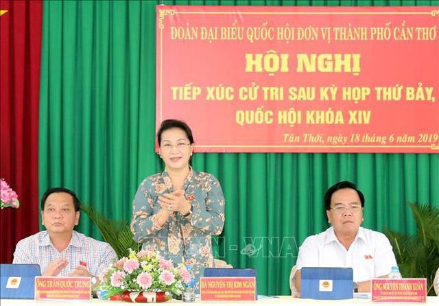 Chủ tịch Quốc hội: Khẳng định quyết tâm của Đảng, Nhà nước trong phòng chống tham nhũng - Ảnh 1.