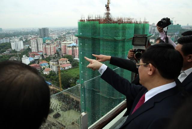 Phó Thủ tướng Vương Đình Huệ động viên các doanh nghiệp Việt Nam ở Myanmar   - Ảnh 2.