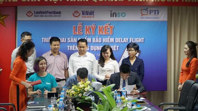 PTI hợp tác với LienVietPostbank cung cấp dịch vụ mua bảo hiểm trễ chuyến bay  - Ảnh 1.