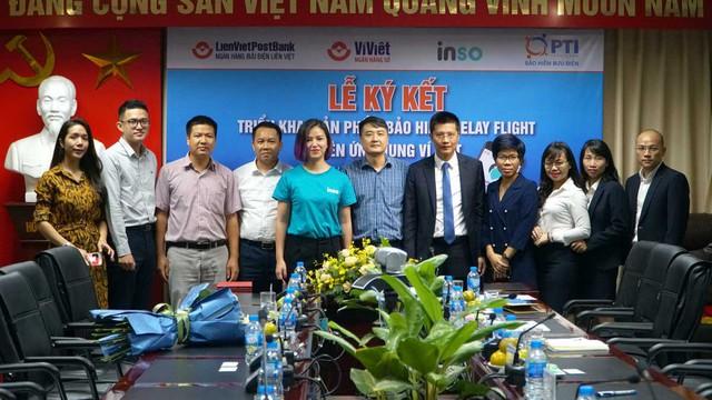PTI hợp tác với LienVietPostbank cung cấp dịch vụ mua bảo hiểm trễ chuyến bay  - Ảnh 2.