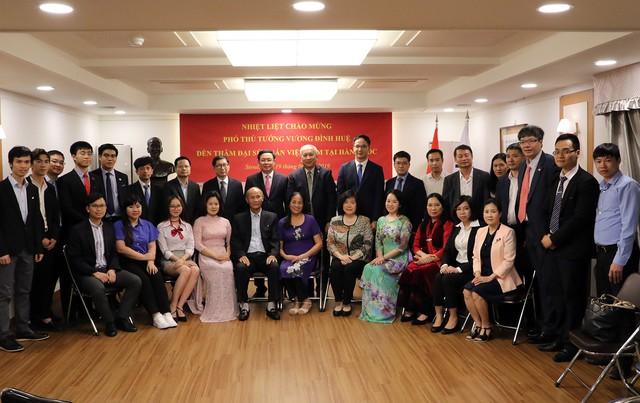 Phó Thủ tướng Vương Đình Huệ làm việc với các Tập đoàn Hàn Quốc đầu tư hàng tỷ USD tại Việt Nam - Ảnh 4.