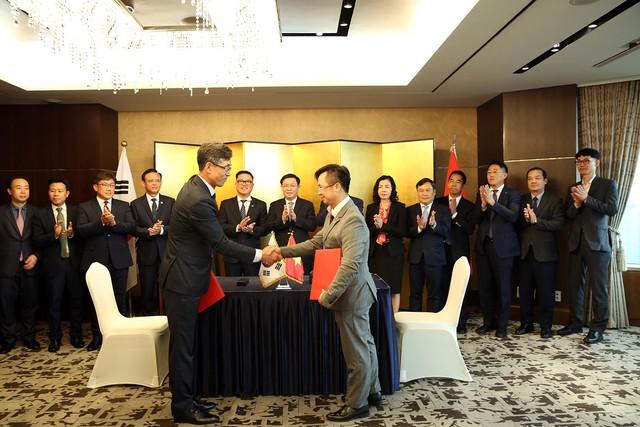 Phó Thủ tướng Vương Đình Huệ làm việc với các Tập đoàn Hàn Quốc đầu tư hàng tỷ USD tại Việt Nam - Ảnh 3.