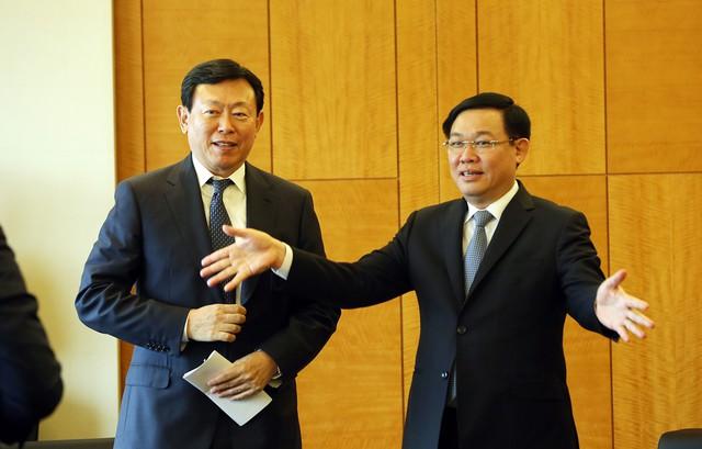 Phó Thủ tướng Vương Đình Huệ làm việc với các Tập đoàn Hàn Quốc đầu tư hàng tỷ USD tại Việt Nam - Ảnh 2.