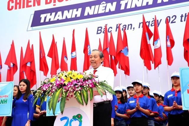 """Phó Thủ tướng Trương Hoà Bình đánh giá cao tinh thần """"vì nhân dân, vì đất nước của thanh niên tình nguyện - Ảnh 1."""