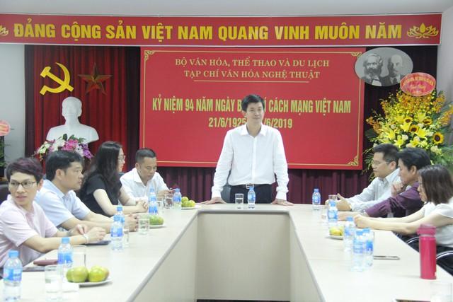 Thứ trưởng Lê Quang Tùng thăm và chúc mừng các cơ quan báo chí nhân Ngày Báo chí cách mạng Việt Nam - Ảnh 3.