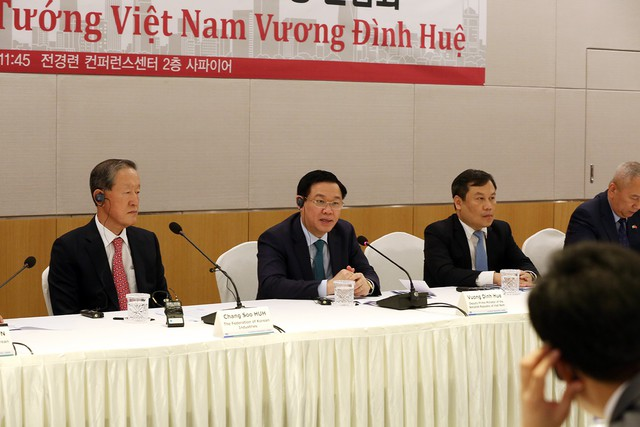 Phó Thủ tướng Vương Đình Huệ: Huấn luyện viên Park Hang- seo đã tạo nên một không khí bóng đá tuyệt vời khắp Việt Nam - Ảnh 3.