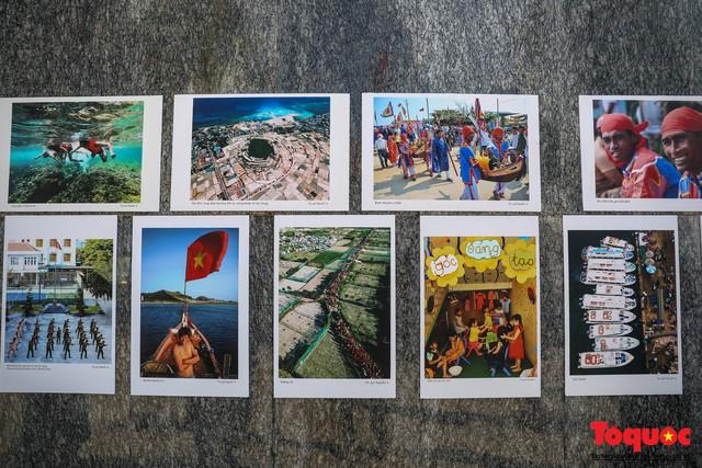 Khai mạc triển lãm chuyên đề về Lý Sơn - Tinh hoa di sản lễ hội, địa chất - Ảnh 4.