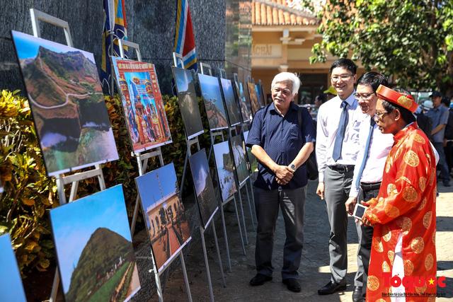 Khai mạc triển lãm chuyên đề về Lý Sơn - Tinh hoa di sản lễ hội, địa chất - Ảnh 10.