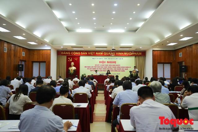 Nhìn lại 5 năm thực hiện Nghị quyết số 33 về xây dựng và phát triển văn hoá, con người Việt Nam - Ảnh 3.