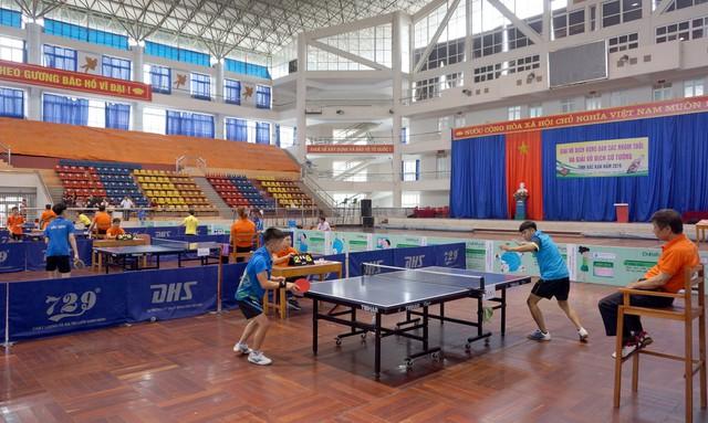 Giải vô địch Bóng bàn và Cờ tướng tỉnh Bắc Kạn 2019 - Ảnh 1.