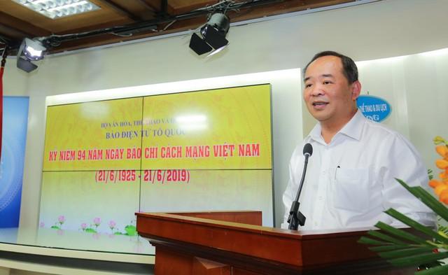 Thứ trưởng Lê Khánh Hải: Báo Điện tử Tổ Quốc đã có bước phát triển vượt bậc - Ảnh 1.