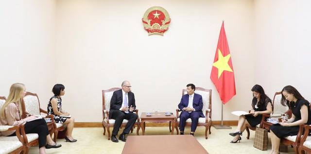 Bộ trưởng Nguyễn Ngọc Thiện tiếp Đại sứ Đan Mạch tại Việt Nam - Ảnh 1.