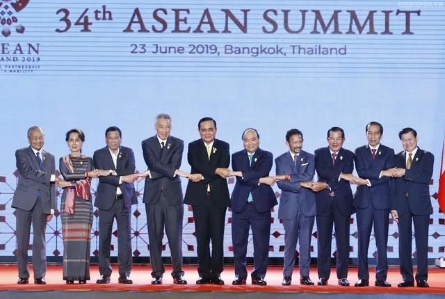 Thủ tướng Nguyễn Xuân Phúc dự khai mạc Hội nghị cấp cao ASEAN - Ảnh 1.