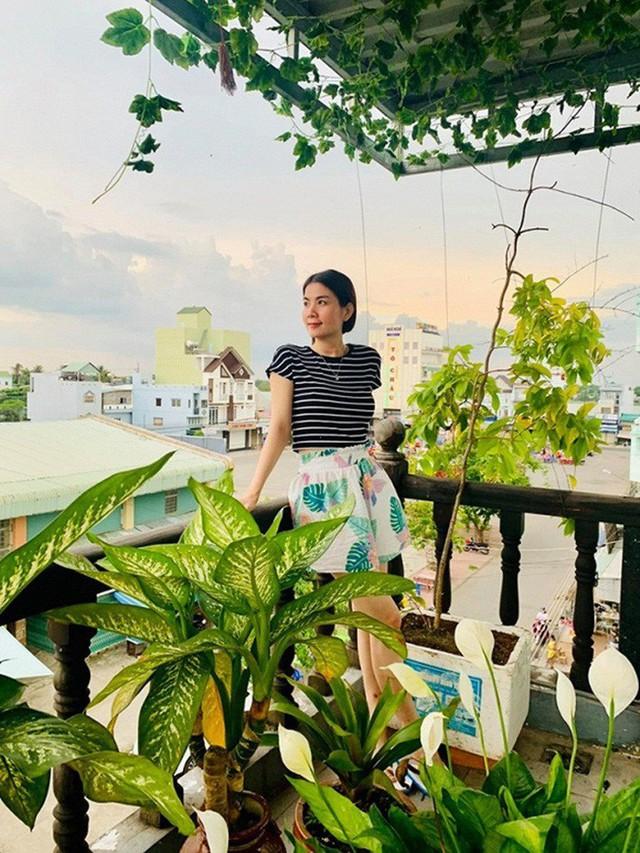 Vườn rau thủy canh ăn không xuể trên sân thượng nhà diễn viên Kha Ly - Thanh Duy - Ảnh 11.