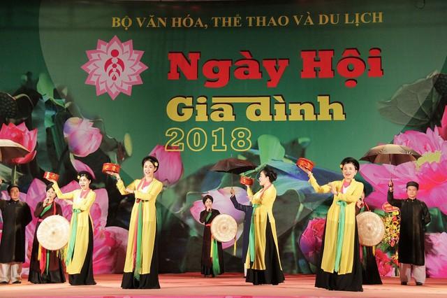Nhiều hoạt động ý nghĩa tại Ngày hội Gia đình Việt Nam năm 2019  - Ảnh 1.