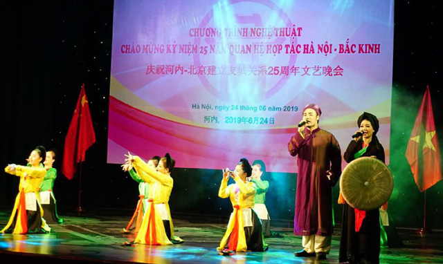Giao lưu nghệ thuật hữu nghị Hà Nội - Bắc Kinh - Ảnh 2.