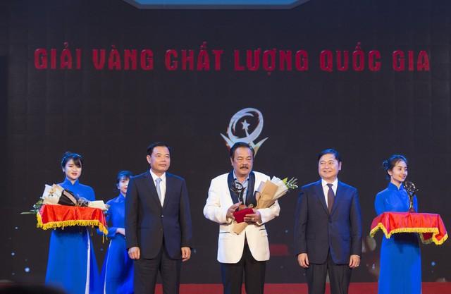 """CEO Trần Quí Thanh: """"Giải Vàng Chất lượng quốc gia khẳng định doanh nghiệp sản xuất, kinh doanh sản phẩm, dịch vụ đẳng cấp thế giới"""" - Ảnh 1."""