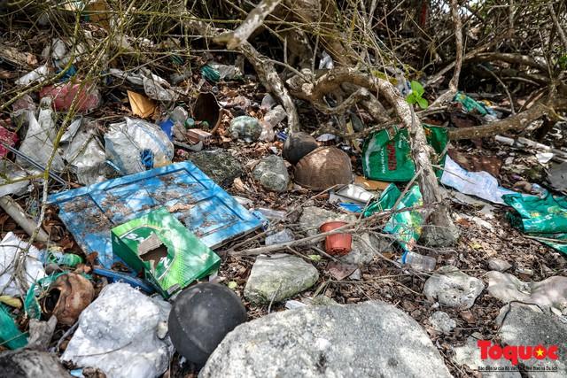 Bờ biển Lý Sơn vẫn ngập rác thải sau nhiều năm nỗ lực xử lý - Ảnh 7.