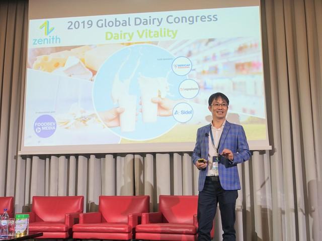 Vinamilk là đại diện duy nhất của châu Á trình bày về xu hướng organic tại Hội nghị sữa toàn cầu 2019 tại Bồ Đào Nha - Ảnh 1.