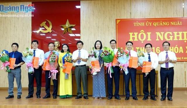 Nhân sự mới ở Đảng bộ các tỉnh Nghệ An, Quảng Ngãi và Phú Thọ - Ảnh 2.