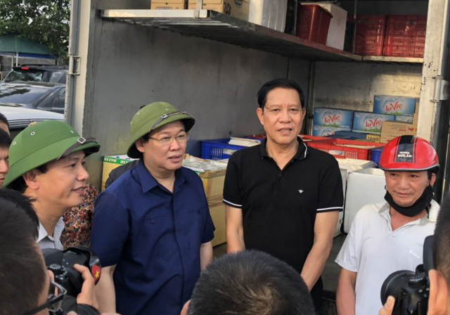 Phó Thủ tướng Vương Đình Huệ thị sát, chỉ đạo chữa cháy rừng Hà Tĩnh  - Ảnh 1.