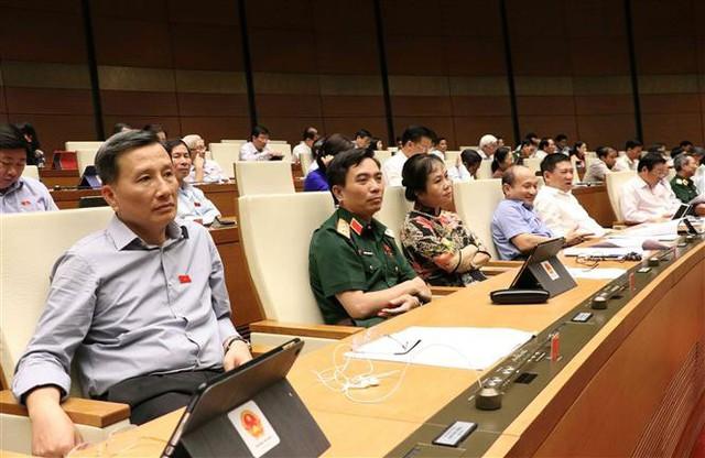 Bộ trưởng Đinh Tiến Dũng báo cáo trước Quốc hội về vấn đề thất thu thuế đối với Uber, Grab - Ảnh 2.